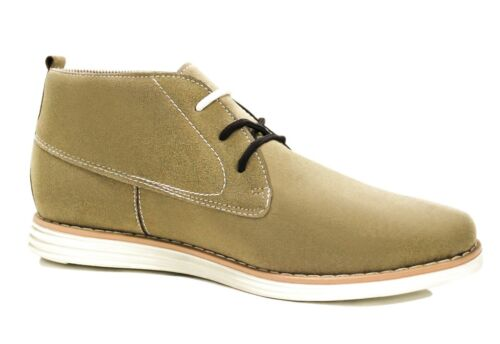 Scarpe polacchine uomo Diamond shoes beige camoscio casual da 40 a 45