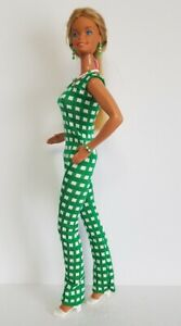 Fits-SUPERSIZE-BARBIE-Doll-Clothes-JUMPSUIT-OVERALLS-and-JEWELRY-18-034-NO-DOLL-d4e