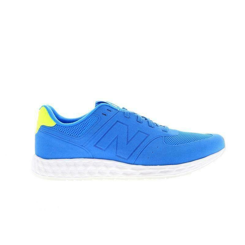 Mens NEW BALANCE 574 Blau Running Trainers MFL574BY