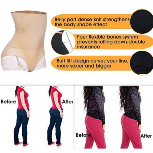 Details about  /WOMEN SHAPEWEAR HIGH WAIST FIRM CONTROL TUMMY SLIMMER BUTT LIFTER PANTY BOYSHORT