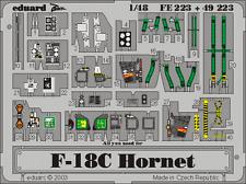 Eduard Zoom FE223 1/48 McDonnell-Douglas F/A-18C Hornet Hasegawa