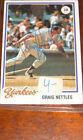 1978 Topps Graig Nettles #250 Baseball Card