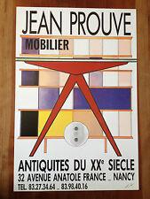 2 Affiches sur Jean Prouvé conception Jacques Koskowitz