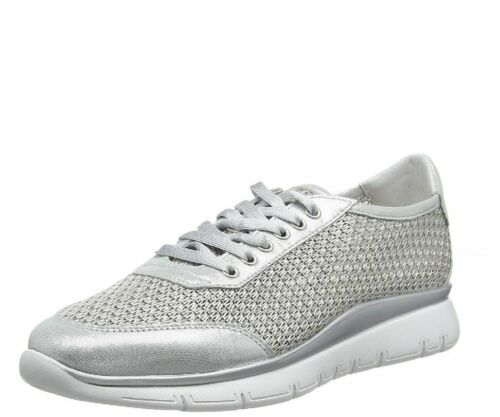 Frau scarpe donna sneakers 42J2 argento  PE19