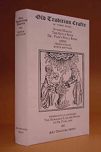 Old Tradition Crafte runes witchcraft Scotland spell book ritual