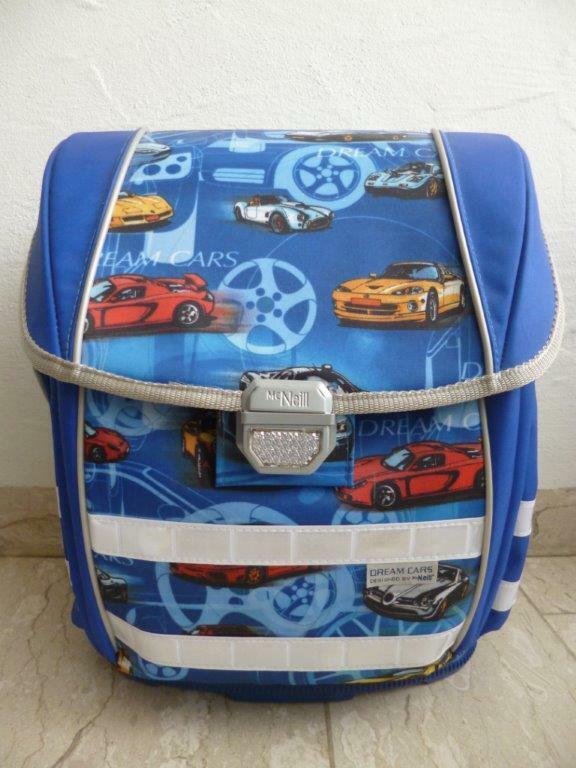 Mcneill Zainetto Scuola  Dream Cars  2pz. Blu Nuovo