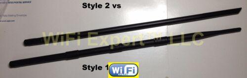 New Dual Band 2.4GHz 5GHz 12dBi RP-SMA High Gain WiFi Wireless Antenna 5.8GHz US