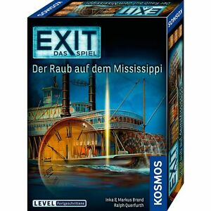 Kosmos-EXIT-Das-Spiel-Der-Raub-auf-dem-Mississippi-Partyspiel