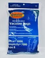 Riccar 8000 And Simplicity 7000 Type B Vacuum Bags 846
