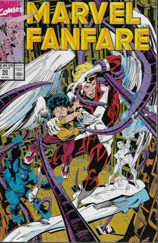 Marvel Fanfare No.50 1990 The Angel Mark Badger Portfolio