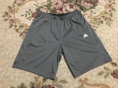 NWT Adidas Climalite Mens Heathered Shorts BR0211 Dark Gray SZ S-L