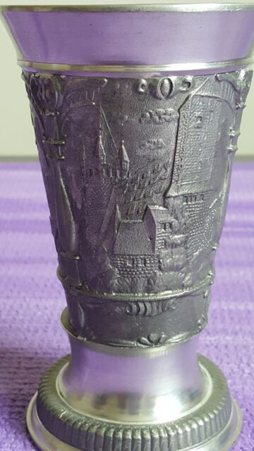 The Fighting Irish Goblet from the Mullingar Pewter Collections