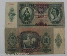 HUNGARY 10 PENGO RARE OLD BANK NOTE # 870
