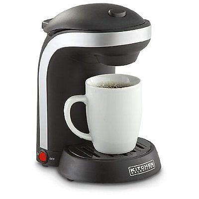 Kitchen Selectives Cm 688 1 Cup Single Serve Drip Coffee Maker Black For Sale Online Ebay