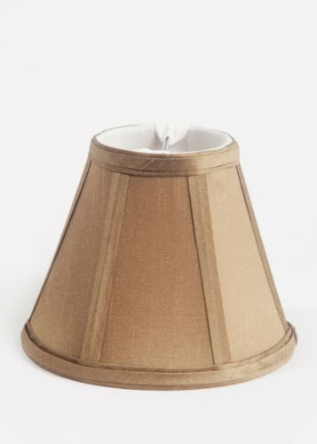"""Urbanest Empire Chandelier Lamp Shade in Silk,Soft Bell 3/""""x 6/""""x 5/"""",6 Colors"""