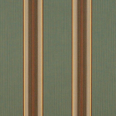 Sunbrella®️ Forest Vintage Bar Stripe 4949-0000 Awning ...