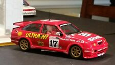 SCALEXTRIC Slot Car 1:32 Ford Sierra RS500 Red DPR Lights New HIGHLY DETAILED