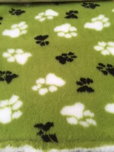 Vet Bed Dogs Dog Bedding Fleece Bed Lime Green Duo Rubber Backed