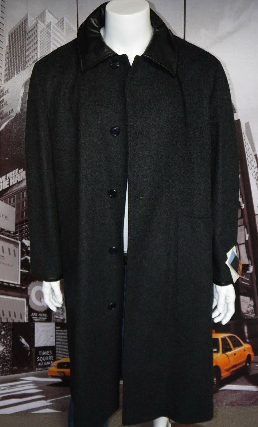 VINTAGE RANCH RANCH RANCH EXIT Lana Cappotto Uomo L MADE IN ENGLAND NEW  MUST HAVE fb5424