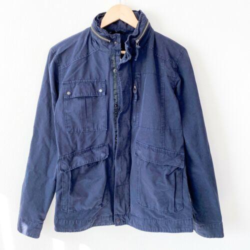 FIELD SCOUT navy blue zip up utility field jacket… - image 1