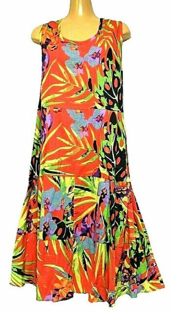 TS dress TAKING SHAPE plus sz XXS / 12 Full Blooms Dress 100% cotton NWT rrp$120