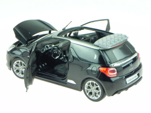 Citroen DS3 DS 3 Cabrio schwarz 2013 Modellauto 181545 Norev 1:18