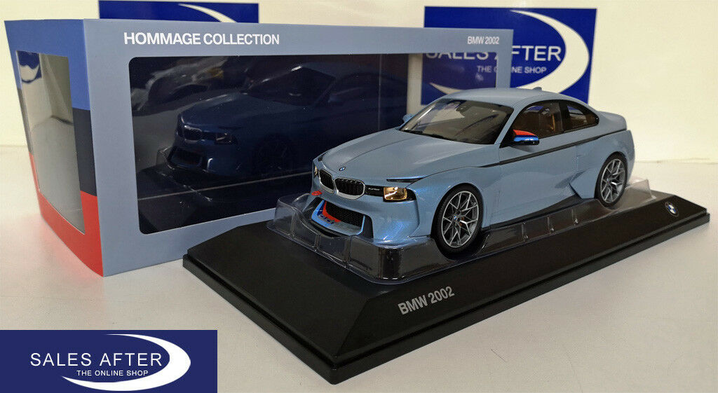 Original BMW Miniature 2002 Turbo Hommage Collection 1:18 voiture miniature concept car | En Gros