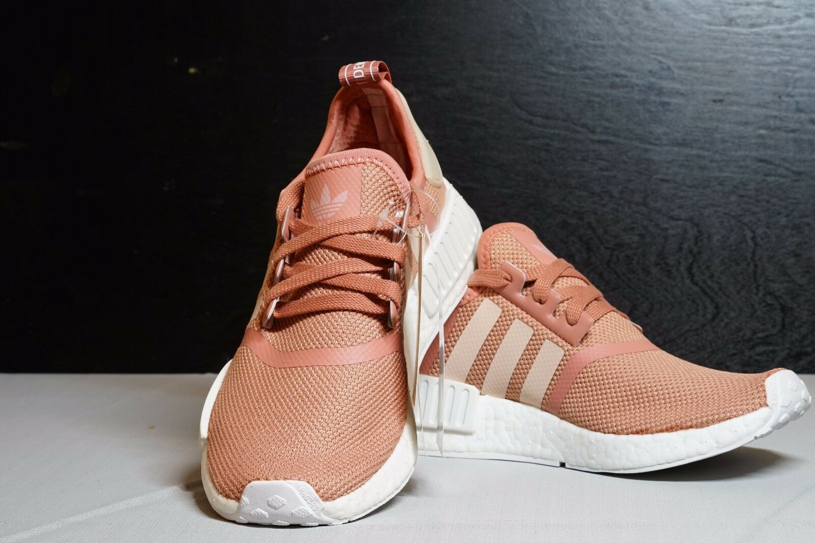 1f935c1078509 ... ADIDAS NMD NMD NMD R1 Raw Pink Rose Salmon Peach women shoes   USA  SELLER