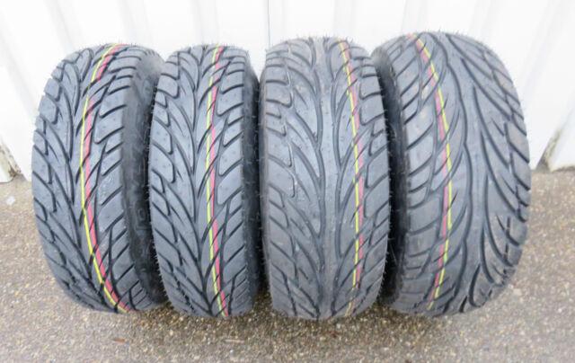 TGB Target 550 Duro Scorcher Neumáticos de Carretera Kit 25x8-12+25x10-12