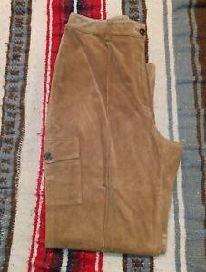 cuir en femme suédé pour Pantalon SHxCZPwqC