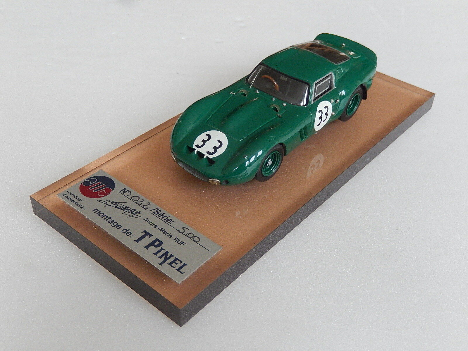 1/43 AMR Ferrari 250 GTO 4491GT 4491GT 4491GT Spa 1965   made in france no hiro bosica | Big Liquidation