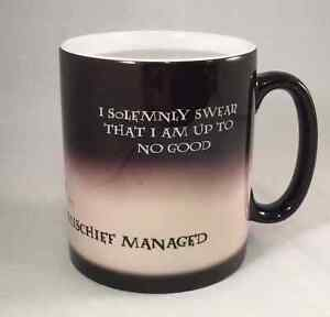 Harry Potter I Solemnly Swear Marauders Map Mischief Managed Coffee