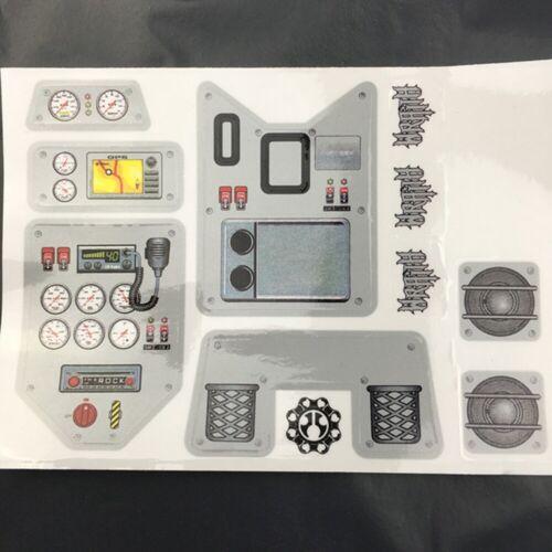 Decorative Decal Sticker Skin for 1//10 Axial Wraith RC Crawler Car Part MA