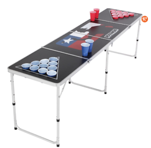 JOYMOR-BEER-PONG-TABLE-8-039-ALUMINUM-FOLDING-INDOOR-OUTDOOR-TAILGATE-DRINKING-GAME