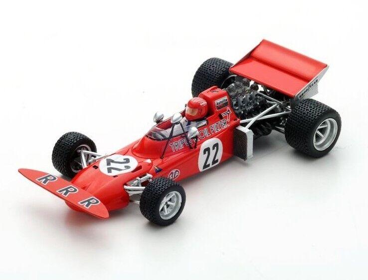 March 711 no. 22 DUTCH GP 1971 Skip Barber s5361 SPARK 1:43 NEW in a box