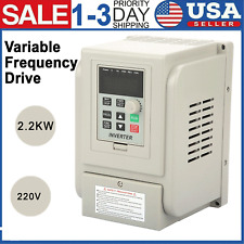 22kw 3 Hp 220v Variable Frequency Drive Single Phase To 3 Phase Speed Converter