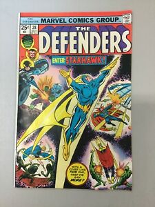 The-Defenders-28-Marvel-Comics-1975-Bronze-Age-1st-Appearance-Starhawk