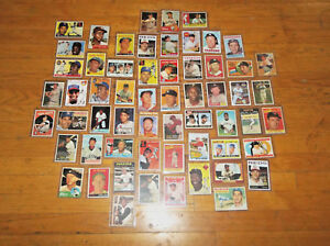 BASEBALL-CARDS-TYPE-SET-50s-60s-70s-80s-90s-2000s-2010s-7-Special-Cards
