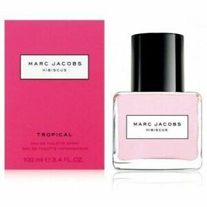 Detalles de 3.3 oz Marc Jacobs Hibiscus Tropical Eau de Toilette 100ml Nuevo Y En Caja ver título original