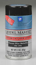 Testors Nassau Blue Metallic 3oz Lacquer Spray Paint 28128 TES28128