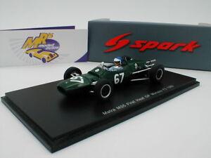 SPARK-s4873-MATRA-ms5-first-head-N-67-GP-Monaco-f3-1966-034-ICKX-034-1-43-Neuf