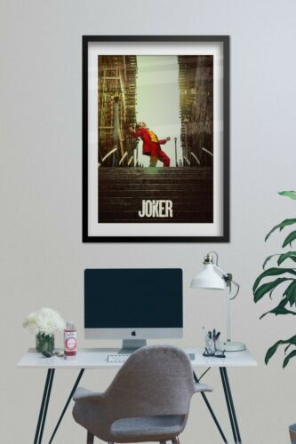 Joker Official Art Movie Poster High Quality Prints 2019