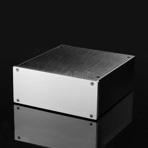 Mini-Amplifier-Chassis-Aluminum-chassis-DIY-enclosure-preamp-Metal-Case-Cabinet