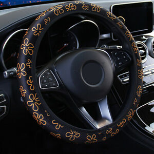 Car Steering Wheel Cover Car Accessories Interior Style Fashion For Girl Women  eBay