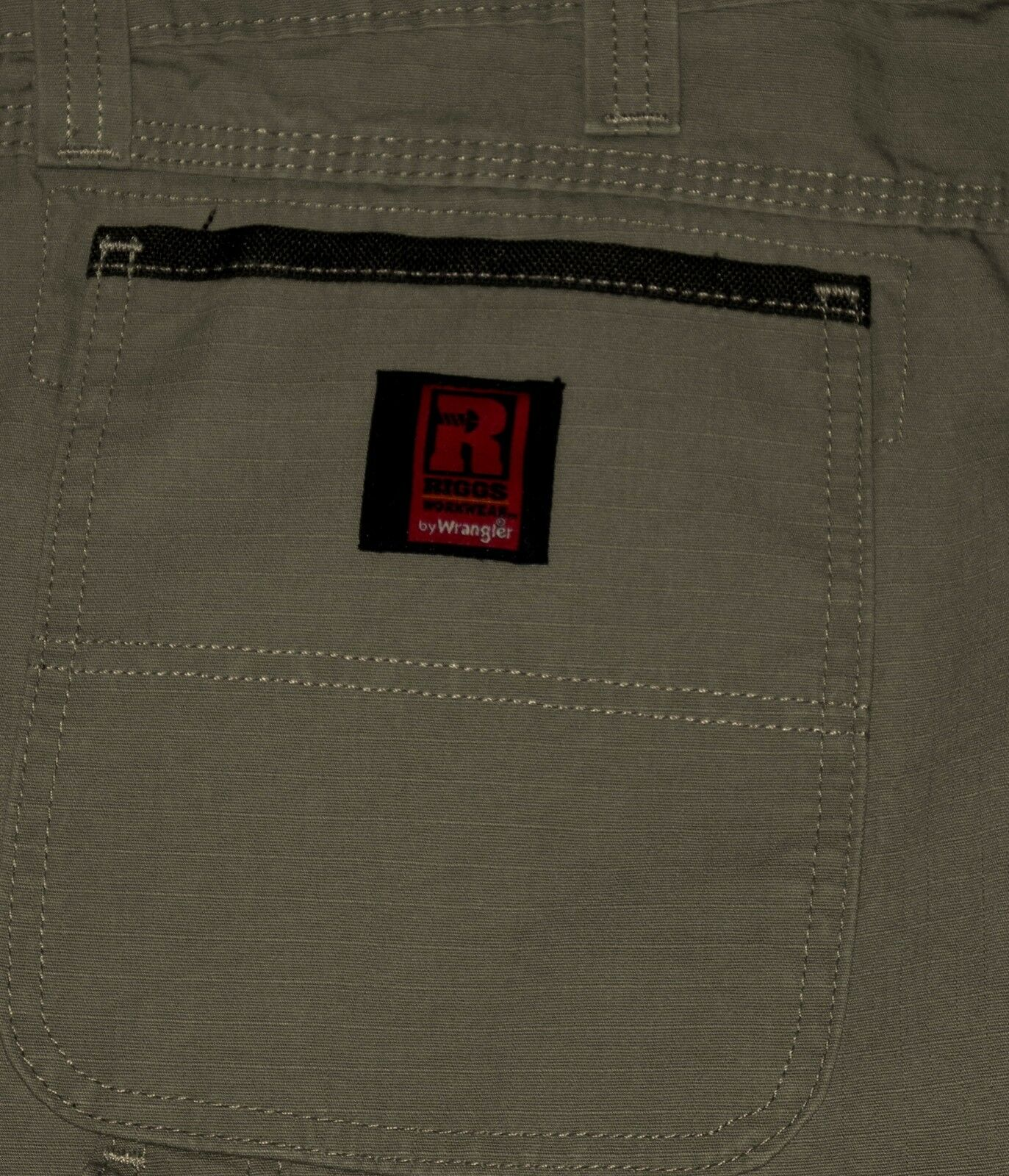 NEW RIPSTOP Fabric Carpenter Relaxed Fit Straight Leg Men's Beige Jeans Sz 42x34