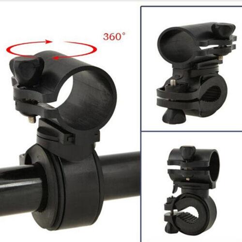 360 Rotation Bicycle Bike Flashlight LED Torch Bracket Mount Holder D HL