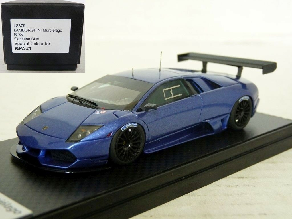 Looksmart LS379 1 43 2010 Lamborghini Murcielago R-SV Handmade Resin Model Car