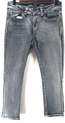 Venus Womens Capris Size 6 Pants Jeweled Pockets Stretch Skinny Cropped Jeans   eBay