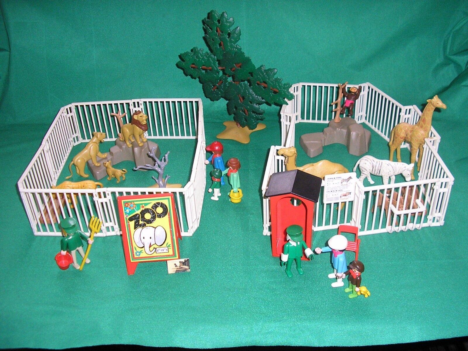 Soldatini Vintage Playmobil Geobra 1974 81 Zoo Safari Ref. 3145