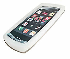 Silikon TPU Handy Cover Case Hülle Kappe für Samsung S8530 Wave 2 in Weiß
